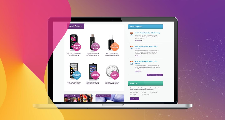 ansignature - User Experience & Visual Design portfolio by Amit Gurung